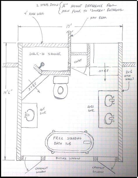 Bathroom Design Templates by Floor Plan Layout Large Shower Bathroom Best Small