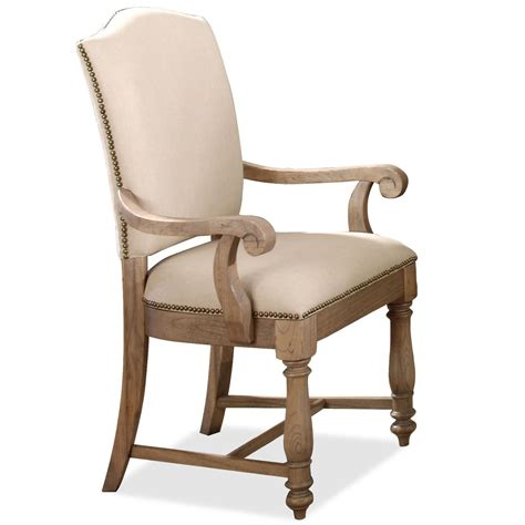 Riverside Furniture Coventry Two Tone Upholstered Arm