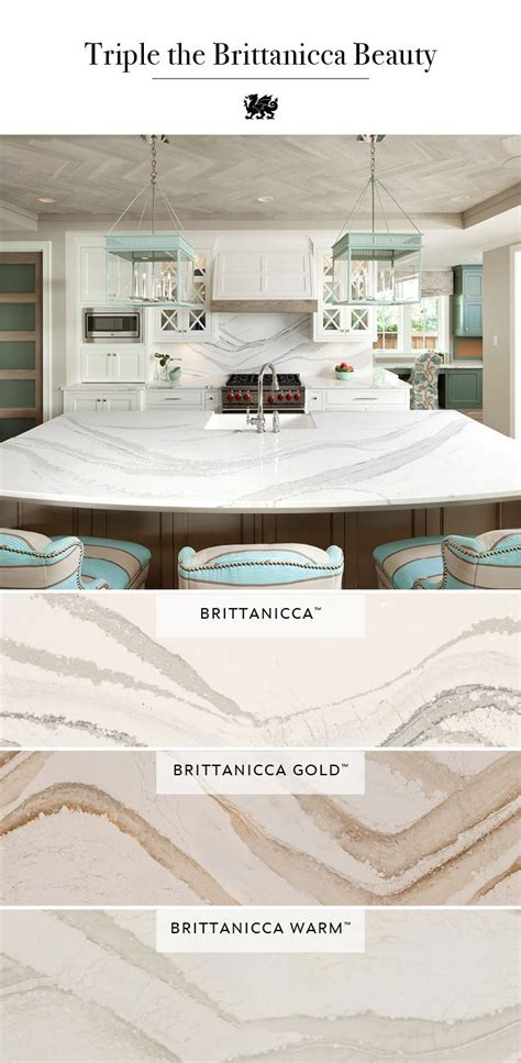 image result  cambria brittanicca warm quartz kitchen
