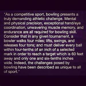For anyone who ... Bowling Game Quotes