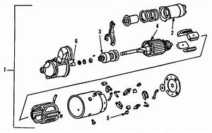 Buick Lesabre Brush Set  Brushes  Component Parts Are Not Serviced For 1997-05 Model