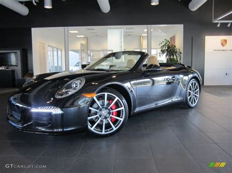 porsche 911 convertible black 2013 black porsche 911 carrera s cabriolet 75787800