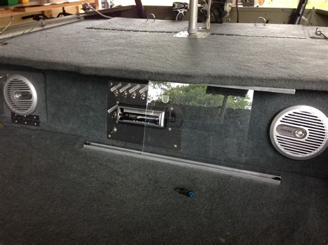 Jon Boat Stereo System by Stereo On Boat Jon Boats Boating And