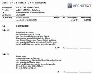 1 Und 1 Rechnung : leistungsverzeichnis langtext ~ Themetempest.com Abrechnung