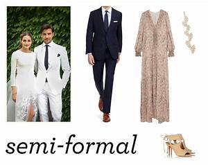 Semi formal dress code all dress for Formal dress code wedding