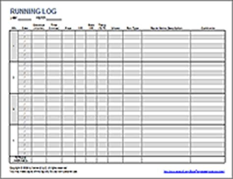 exercise charts logs weight loss charts