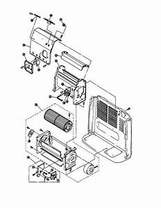 Blower Diagram  U0026 Parts List For Model Rce229a Rinnai