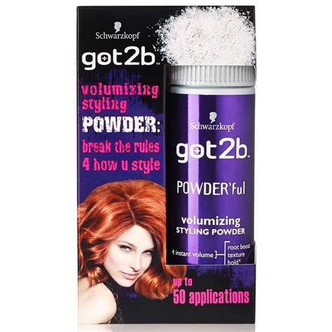 Schwarzkopf Got2b Volumizing Styling Powder   Hair Care   B&M