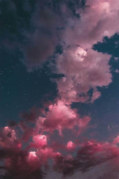 Aesthetic Cloud Clouds Wallpapers Candy Cotton Backgrounds