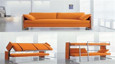 doc sofa bunk bed modern living room design with convertible couch bunk beds