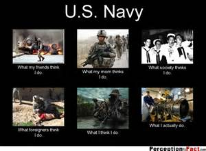 Navy What My Friends Think I Do