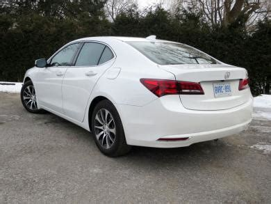 test drive  acura tlx  tech fwd page