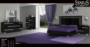 Black bedroom sets (photos and video) WylielauderHouse com