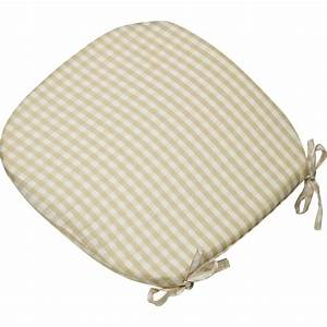 Gingham Check Tie On Seat Pad 16quot X 16quot Kitchen Outdoor