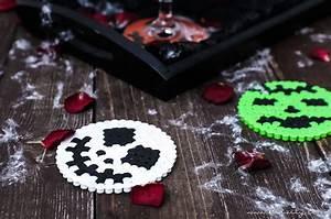 Halloween Snacks Selber Machen : halloween deko selber machen b gelperlen glasuntersetzer diy blog aus dem ~ Eleganceandgraceweddings.com Haus und Dekorationen