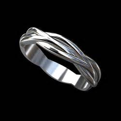 platinum modern twisted shank infinity 39 s wedding ring 4 2mm orospot - Mens Infinity Wedding Band