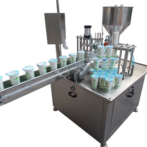 automatic rotary honey yogurt jelly water cup filling sealing machine buy rotary cup