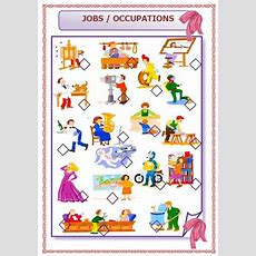 Jobs And Occupations Elementary Worksheet