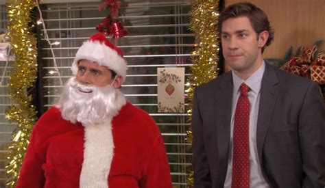 christmas as told by michael scott