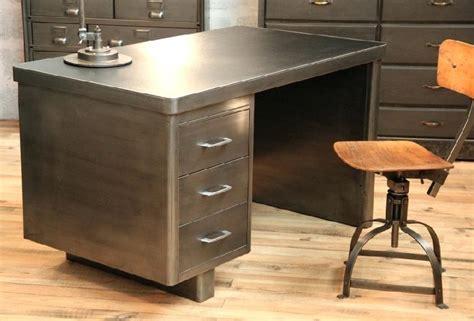 Bureau Metal Industriel Bureau Metal Atelier Loft Design