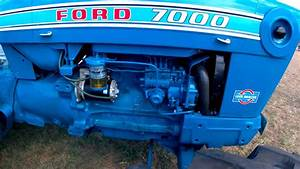 1973 Ford 7000 4 2 Litre 4-cyl Diesel Tractor  94hp
