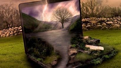 Laptop Backgrounds Wallpapers Open Pixelstalk Reflection Apple