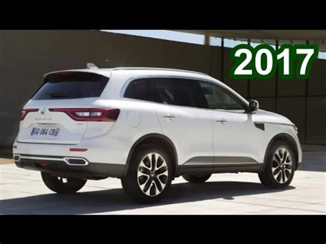 renault koleos 2017 interior 2017 renault koleos interior exterior and drive youtube