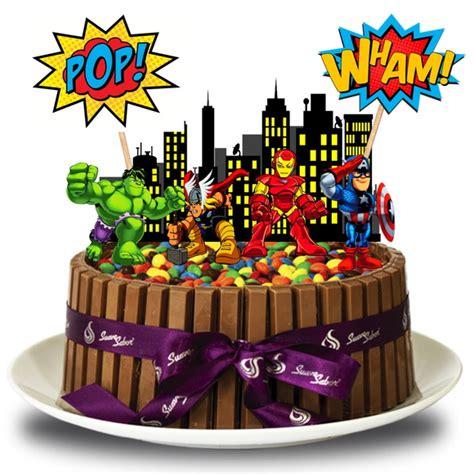 topo de bolo vingadores no elo7 brl flex festas 70366e