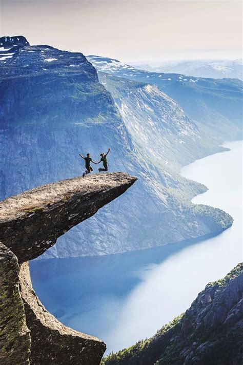 Trolltunga Norway Bucket List Trolltunga Norway