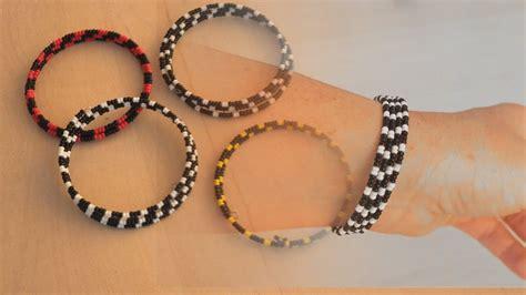 einfaches basteln mit kindern einfaches freundschafts armband aus perlen und spiral draht basteln mit kindern