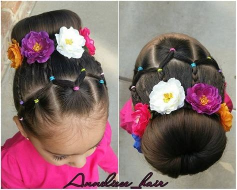 Pin by Ely Roman on Peinados Flower girl hairstyles