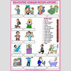 Resultado De Imagen De Daily Routine Worksheet  Idioma  Rutinas En Ingles, Fichas Ingles