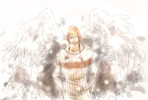 One Piece Corazon (one Piece) Light Background Feather
