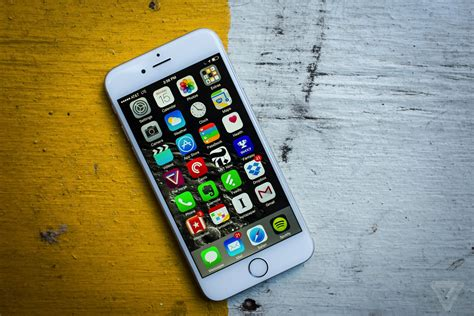 iphone 6a iphone 6 review the verge