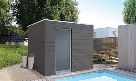 Abri De Jardin Polypropylène Abri De Jardin Box Wpc Bois Composite Surface 6m 178