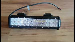 Atv Led Light Bar Review  Installation And Testing