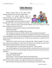 Printable Reading Comprehension Worksheets 3rd Grade