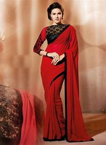 Bold and Beautiful Plain and Embroider Sarees New Designs NationTrendz