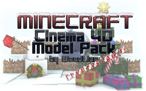 Minecraft Model Pack [v1.5.306] + Steve Rigs [v1.2+v1.1