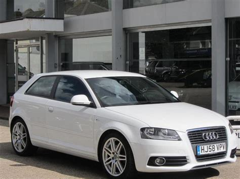 manual cars for sale 2008 audi a3 on board diagnostic system used audi a3 2008 manual petrol 2 0 tfsi s line white for sale uk autopazar