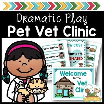 pet vet animal hospital dramatic play by prekpages tpt 131 | original 404240 1