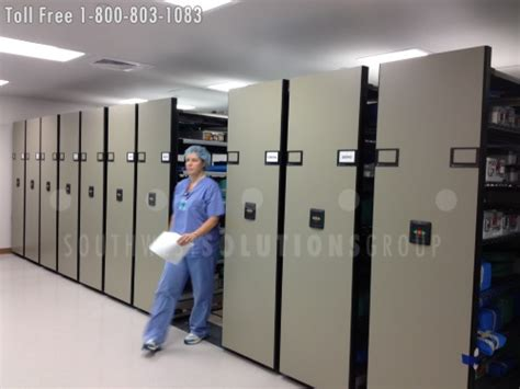 Hospital Uses Mobile Storage Systems For Sterile Supply
