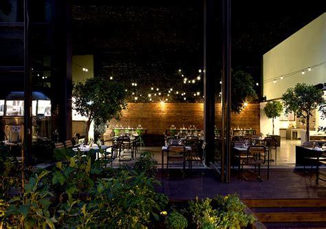 Urban Garden Restaurant In Athens-interiorzine