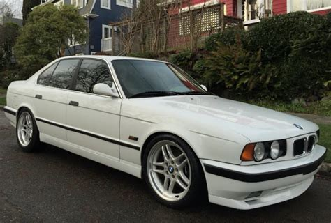 Bmw 540i M Sport by Modified 1995 Bmw 540i M Sport 6 Speed For Sale On Bat