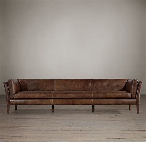 sorensen leather sofas restoration hardware 14 color