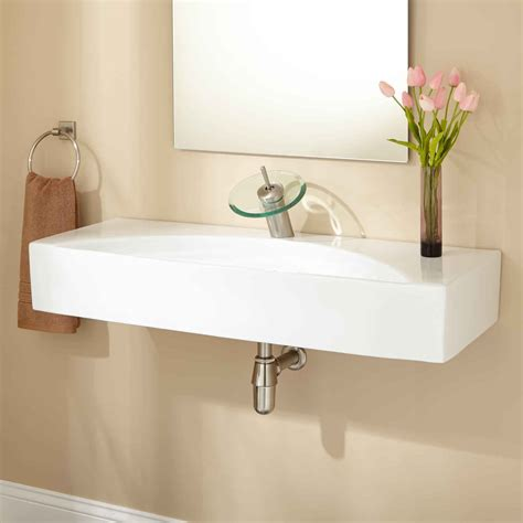 Small Wall Mounted Bathroom Sink by How To Install Wall Mounted Sink Midcityeast