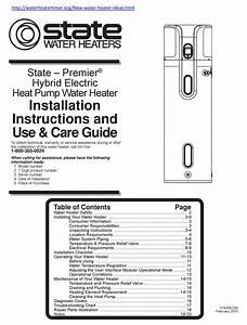 State Water Heaters Hybrid Electric Heat Pump Water Heater