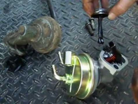 revised   install  mechanical fuel pump  chevy