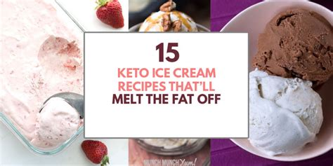 There are dairy free options too. 15 Keto Ice Cream Recipes TO MELT THE FAT OFF (+ 4 Methods)