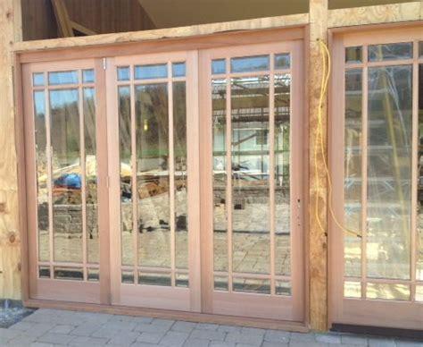 folding patio doors exterior patio doors that stack to
